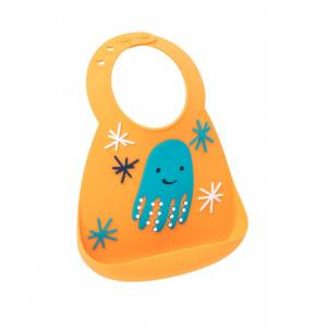 Нагрудник  Baby Bib Octopus Make my day