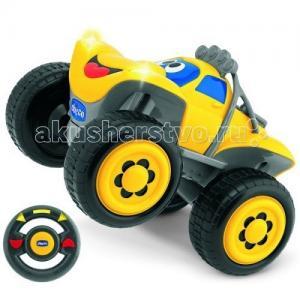 Машинка Билли большие колеса с радиоуправлением Chicco