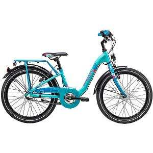 Двухколесный велосипед  chiX 20 Scool. Цвет: голубой