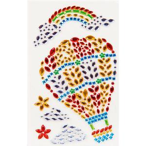 Наклейки из страз  Воздушный шар Color Puppy. Цвет: разноцветный
