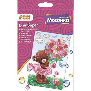 Алмазная мозаика  Мишка-милашка Color Puppy. Цвет: разноцветный