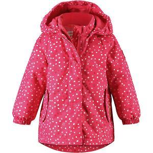 Куртка Ohra  для девочки Reima. Цвет: розовый