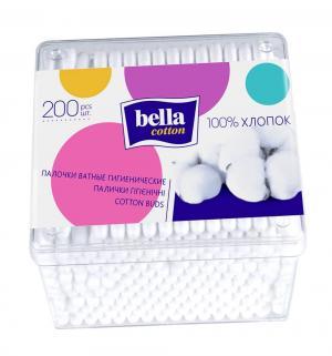 Ватные палочки  Cotton, 200 шт Bella