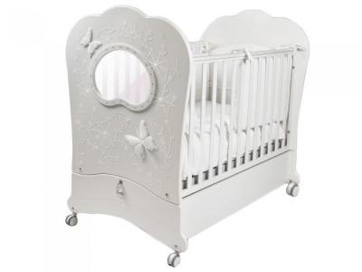 Детская кроватка  FMS Oblo Charme Brillante продольный маятник Feretti