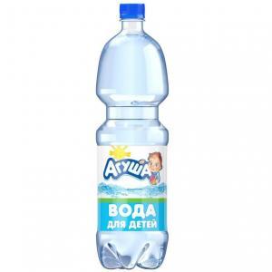 Вода  Детская питьевая природная негазированная, 1.5 л Агуша