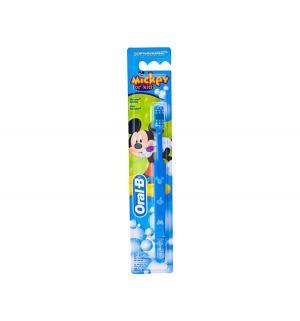 Зубная щетка  Mickey Kids, цвет: голубой Oral-B
