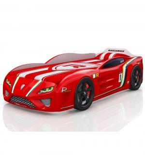 Кровать-машинка  SportLine, цвет: красный Romack