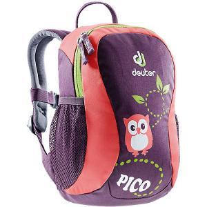 Рюкзак  Pico Совенок, фиолетовый Deuter. Цвет: лиловый