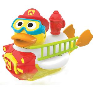 Водная игрушка  Утка-пожарный, с водометом и аксессуарами Yookidoo