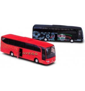 Масштабная модель  автобус Mercedes-benz цвет кузова Welly