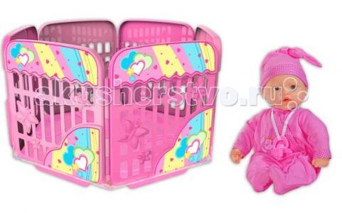 My Dolly Sucette Набор 37 см с игровой площадкой Loko Toys