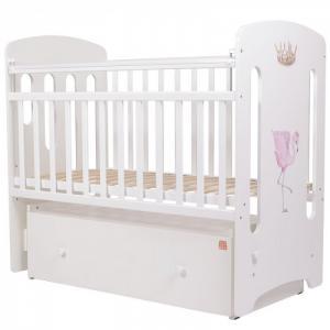 Детская кроватка  Каролина Фламинго Топотушки