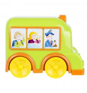 Автобус  с движущимися глазами (салатовый) Simba