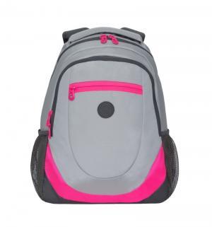 Рюкзак молодежный  серый Grizzly