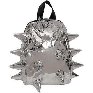 Рюкзак  Rex Pint Spike Chrome, 28х21х15 см MadPax. Цвет: серебряный