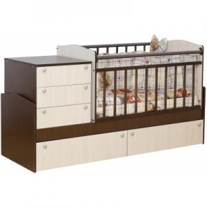 Кровать-трансформер  02, цвет: комби Daka Baby