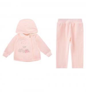 Комплект джемпер/брюки  Fiszka, цвет: розовый Sofija
