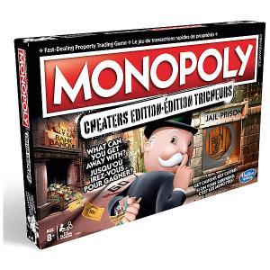 Настольная игра  Gaming Монополия Большая афёра Hasbro