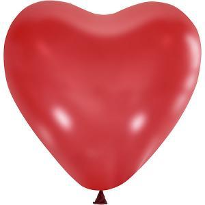 Воздушные шары  Сердце 50 шт., пастель Latex Occidental