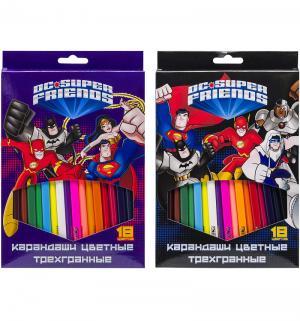 Карандаши цветные  DC Comics! Action
