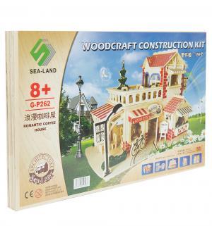 Сборная деревянная модель  Кофейня Wooden Toys