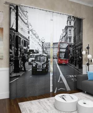 Фотошторы Классика Лондона Сирень