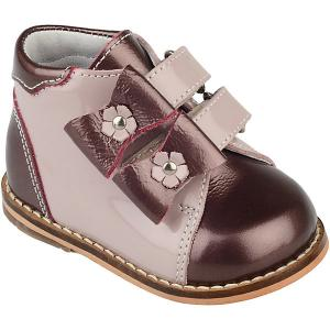 Ботинки Тотто. Цвет: коричневый