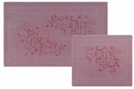Naturale Vite Комплект ковриков для ванной комнаты хлопковый 60х100 см 2 шт. Castafiore
