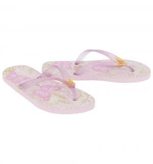 Шлепанцы , цвет: розовый Dupe