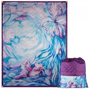 Рюкзак и коврик Ирисы 190х140 см OnlyCute
