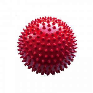Мяч ёжик красный, 8,5 см, МалышОК