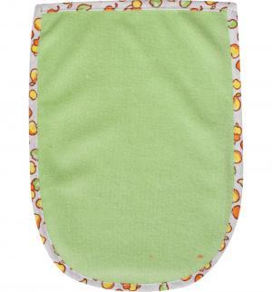 Мочалка-варежка , цвет: зеленый Мир Детства