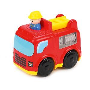 Инерционная игрушка  Пожарная машинка Жирафики. Цвет: красный