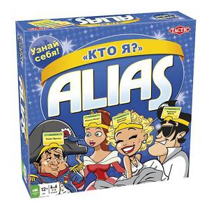 Настольная игра Alias Кто Я? Tactic Games