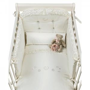 Комплект в кроватку  Flora (4 предмета) Picci