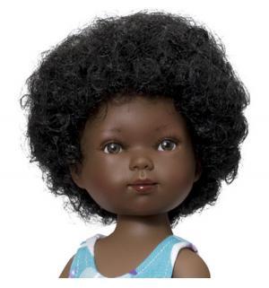 Кукла  Карлотта Балерина-африканка 28 см Vestida de Azul