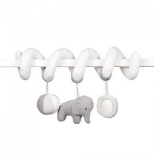 Подвесная игрушка  Toy spiral Tembo Слоник 24 см Nattou
