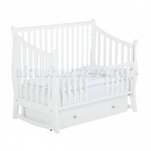 Детская кроватка  Maggy 125х65 маятник поперечный Papaloni