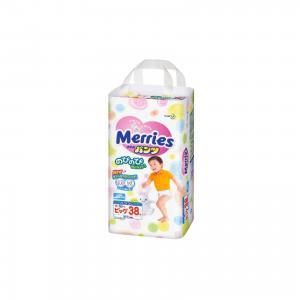 Трусики-подгузники для детей , XL 12-22 кг, 38 шт. Merries