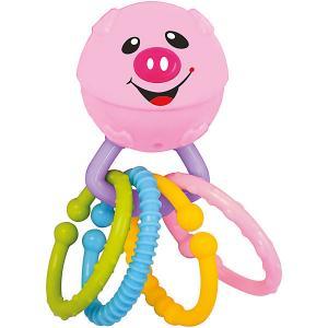 Развивающая игрушка Веселая хрюшка Kiddieland. Цвет: розовый