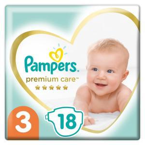Подгузники  Premium Care (6-10 кг) шт. Pampers