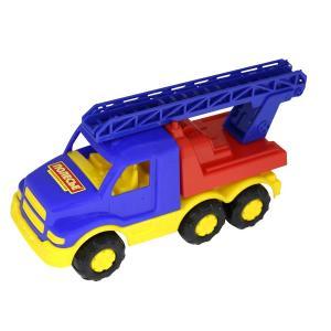 Машинка  Гоша Пожарная спецмашина синяя 18 см Полесье