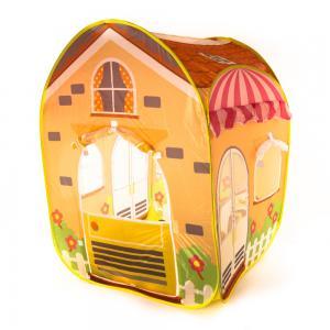 Домик  Летний домик, цвет:желтый/оранжевый/розовый Bony