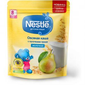 Каша  молочная овсяная с грушей 8 месяцев 220 г Nestle