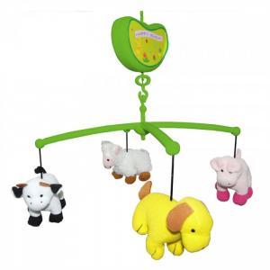 Мобиль  Музыкальный Счастливая ферма Biba Toys
