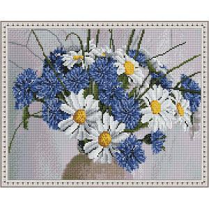 Алмазная мозаика  Июльский букет, 40х50 см Molly. Цвет: разноцветный