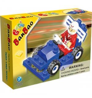 Конструктор  Формула 1 синяя машинка BanBao
