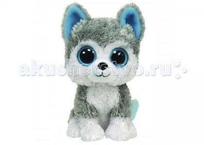 Мягкая игрушка  Beanie Boos Собачка Slush 15 см TY