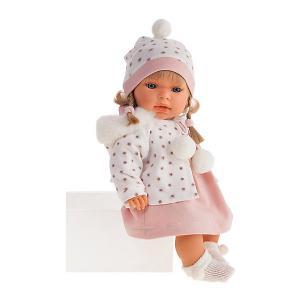 Кукла Juan Antonio Munecas Дана, 37см.. Цвет: розовый/белый