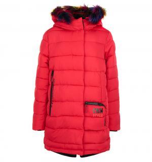 Пальто , цвет: красный Fobs